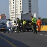 Muere policía en choque de motos