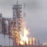 Se pospone lanzamiento de cápsula Dragon de SpaceX por caída de un rayo