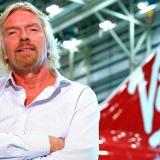 El empresario británico Richard Branson.