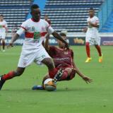 El partido entre Atlántico y Tolima fue muy disputado.