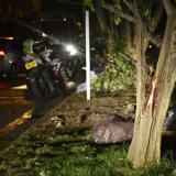Muere instructor de gimnasio en accidente de moto