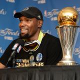 Durant dice que llevaba dos días sin dormir esperando la final