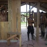 El 'pueblito' que construyen las Farc para vivir en Guaviare