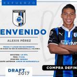 Querétaro confirma fichaje de Alexis Pérez