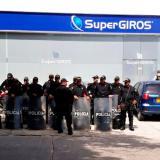 Vendedores de chance protestan por disminución en su salario