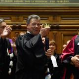 Santos recibe grado honorífico de la Sorbona por esfuerzos de paz en Colombia