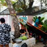 Dos semanas lleva toma de Cafesalud en Riohacha por familiares de niña de 7 años
