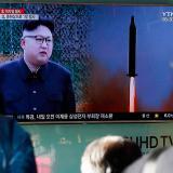 Kim Jong en una imagen del 12 de febrero pasado cuando su gobierno lanzó un misil balístico.