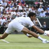 Djokovic y Del Potro, firmes en Wimbledon