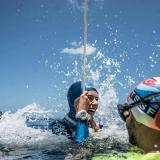 La colombiana Sofía Gómez, récord mundial en apnea