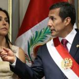 El expresidente de Perú Ollanta Humala, con su esposa, Nadine Heredia.