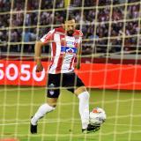 El uruguayo Matías Mier anotó un gol a través de esta acción, pero el árbitro lo anuló por fuera de lugar.