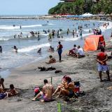 El cierre de playas que nunca se vio en Puerto
