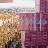 Caen 30.000 cajas de cigarro y 26.289 de licor en Magdalena