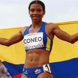 La atleta bolivarense Muriel Coneo.