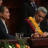 """Presidente Lenín Moreno dice que la política en Ecuador es """"rastrera"""""""