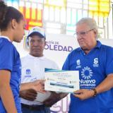 600 niños de las Escuelas de Iniciación Deportiva de Soledad reciben uniformes