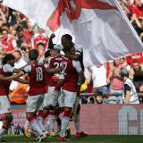 El Arsenal gana la Community Shield al derrotar al Chelsea en penales