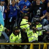 La Policía controlando.