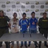 Los detenidos en Malambo.