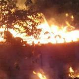 """Incendio """"provocado"""" consume dos centros ceremoniales indígenas de la Sierra Nevada"""