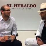 El dominicano Gabriel presentó su disco 'Contra corriente' en EL HERALDO