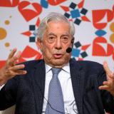 Escritor peruano, Mario Vargas Llosa.