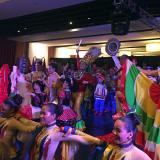 A ritmo de cumbia, Banda de Baranoa cierra Colombia Trade Expo en Miami