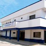 Hospital Juan Domínguez Romero, donde falleció la víctima cuando recibía atención médica.