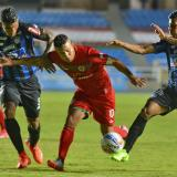 El delantero galapero Féiver Mercado viene de marcarle gol al Junior en la Liga.
