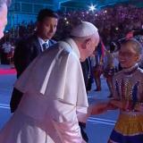 """""""Conocerlo fue una 'maravillosería"""", niña de la Banda de Baranoa que habló con el Papa"""