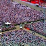 Cifra histórica: 6,8 millones de personas asistieron a eventos con el Papa