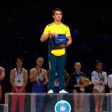 Jossimar Calvo se luce en Copa Mundo de gimnasia