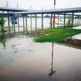 Inundación en aeropuerto Los Garzones molesta a alcalde de Montería