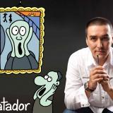 """""""Para un caricaturista Colombia es el paraíso, aquí pasa de todo"""""""