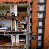 Terremoto dejó hogares mexicanos convertidos en trágica casa de muñecas