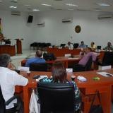 Aspecto de una plenaria en el Concejo de Barranquilla, el cual inicia hoy sus últimas sesiones ordinarias de 2017.