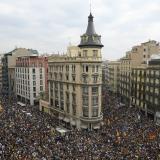 Huelga de independentistas paraliza Barcelona