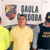 Cae presunto jefe de sicarios del 'Clan del Golfo' en Córdoba