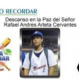 Fallece Rafael Arteta Cervantes, prospecto del béisbol atlanticense