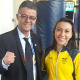 Natalia Bernal, oro en el Suramericano de la Juventud
