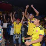 Así celebró la Costa la clasificación de Colombia a Rusia 2018