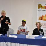 Patricia Vargas, Mónica Schraer, Eduardo Pantoja, Francis Zyberblum y Cindy Durán.