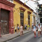 Calle del Centro histórico de Cartagena.