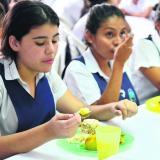 En alimentación escolar Somos ciudad ejemplar
