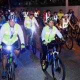 Realizan novena Biciquilla para celebrar el Día de los Angelitos