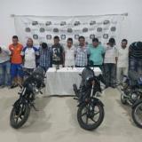 Cae la banda 'los Suzuki', dedicada al hurto de motos en Córdoba
