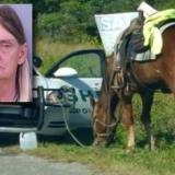 Mujer es arrestada en EEUU por conducir ebria... un caballo