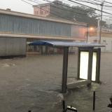 Diluvio en Santa Marta genera varias emergencias