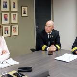 La ministra de Trabajo, Griselda Restrepo, se reunión con los pilotos agremiados en Acdac en septiembre.